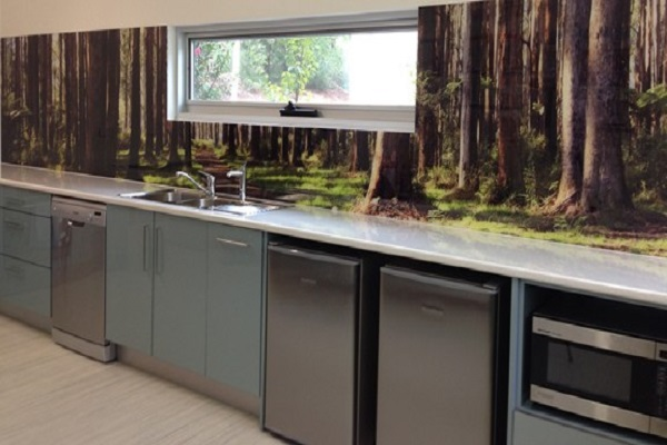 Woodland Picture Kitchen Splashback Design