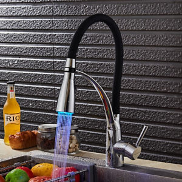 Modern LED Kitchen Tap