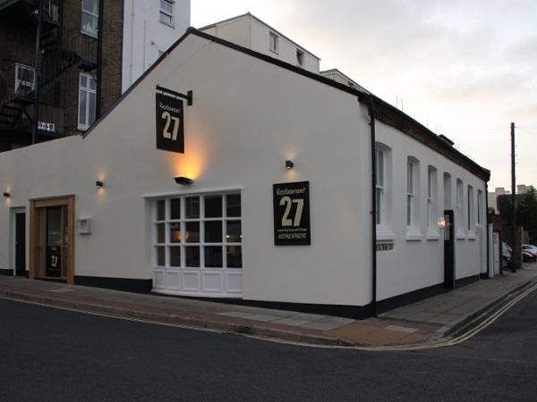 Restaurant 27, South Parade, Portsmouth