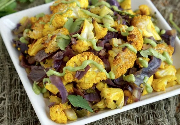AIP friendly Turmeric Cauliflower Bake