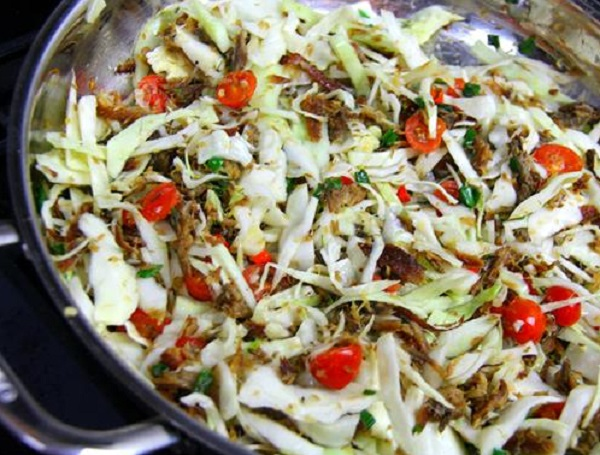 Cabbage With Smoked Herrings