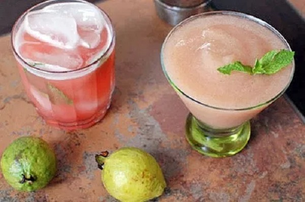 Guava Basil Daiquiri Cocktail