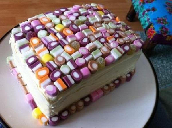 Dolly Mixture Birthday Cake