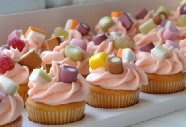 Dolly Mixture Cupcakes