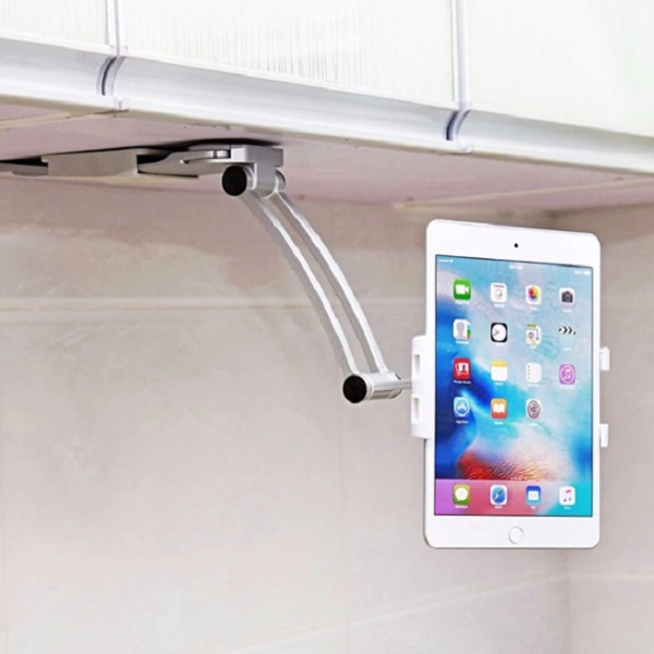 Universal Under-cupboard Kitchen Tablet Holder