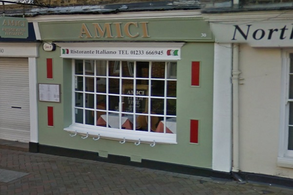 Amici, North St, Ashford