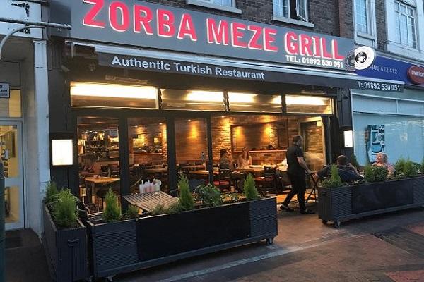 Zorba Meze Grill, Upper Grosvenor Rd, Tunbridge Wells