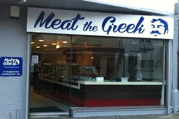 Meat the Greek, Chapel St, Guildford