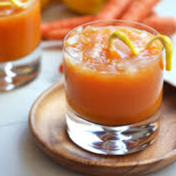 Carrot Whiskey Cocktail