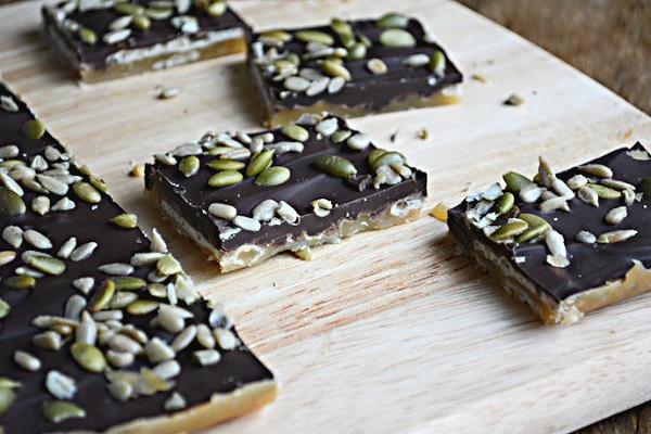 Gluten & Nut Free Toffee Bark