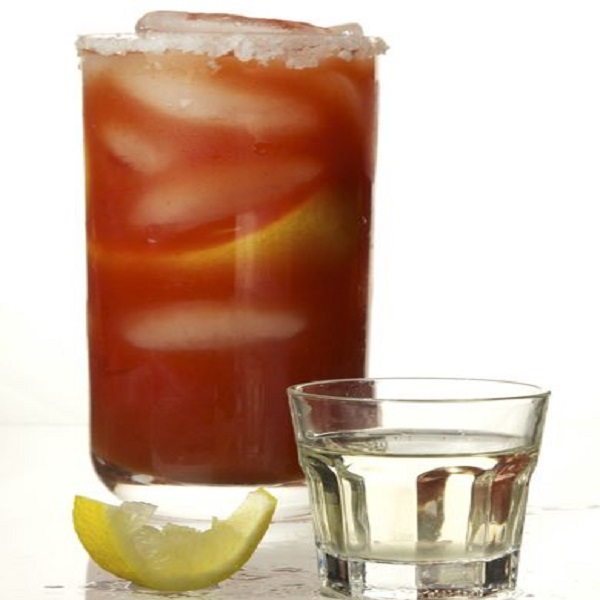 Chavela (Mexican Beer with Tomato Juice)