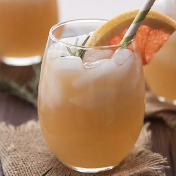 Rosemary Grapefruit Mocktail