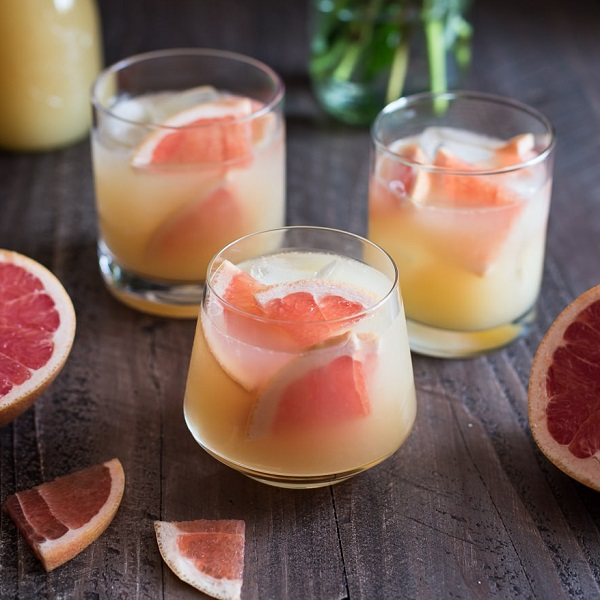 Bourbon Grapefruit Cocktail
