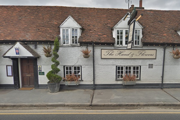 The Hand and Flowers, West St, Marlow
