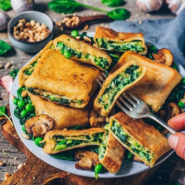 Crispy Vegan Ravioli