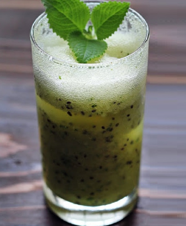 Kiwi, Lime & Mint Cooler