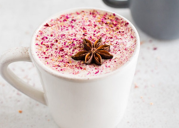 Chai Latte Made with Goats Milk