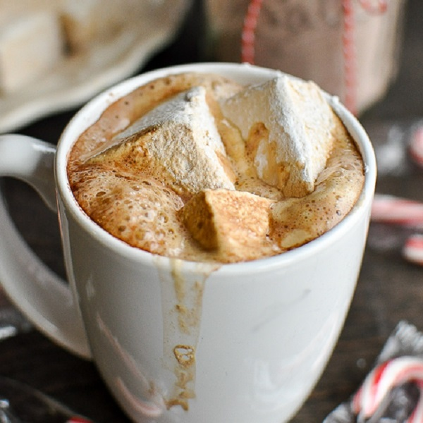 Hot Chocolate and Marshmallows Mix with Powdered Goat Milk