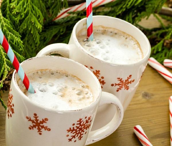 Goat Milk Candy Cane Hot Chocolate