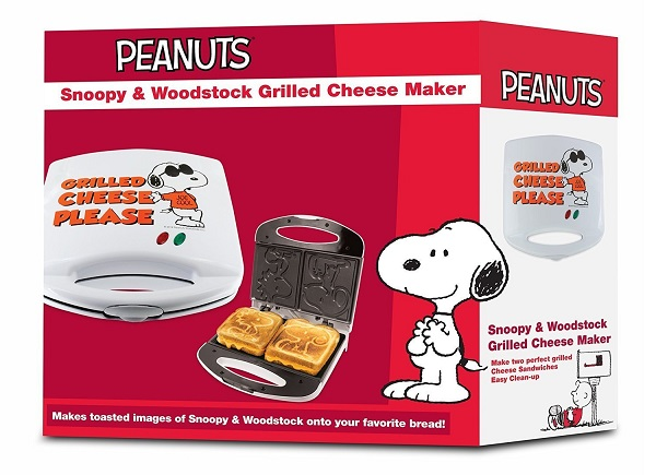 Peanuts Snoopy and Woodstock Grilled Cheese Sandwich Toaster