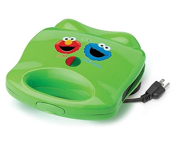 Sesame Street Elmo & Cookie Monster Grilled Cheese Sandwich Toaster