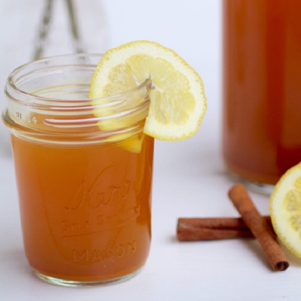 Lemon, Ginger & Turmeric Detox Tea