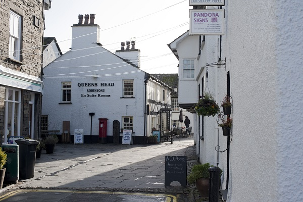 Queens Head Inn & Restaurant, Hawkshead, Ambleside