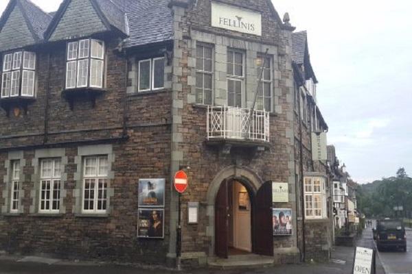 Fellinis Restaurant, Church Street, Ambleside