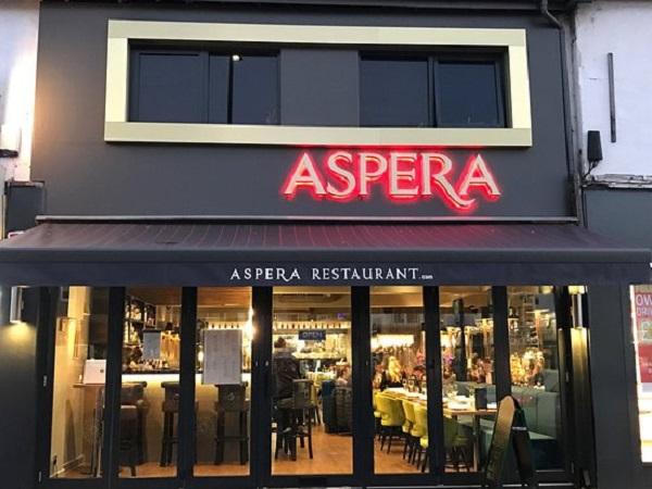 Aspera Restaurant, South Benfleet, Benfleet