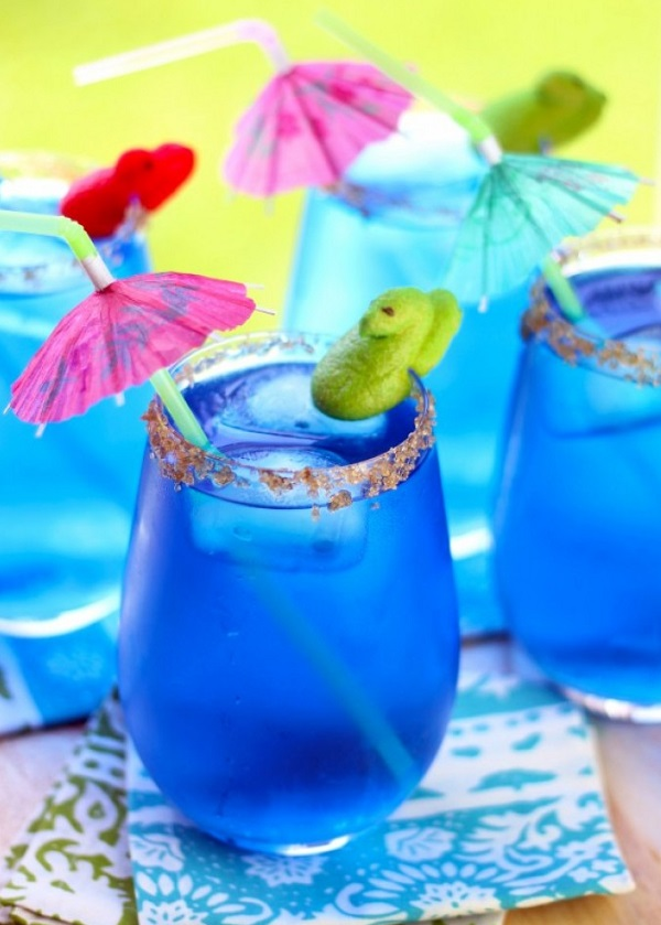 Marshmallow Peeps Beachside Drink