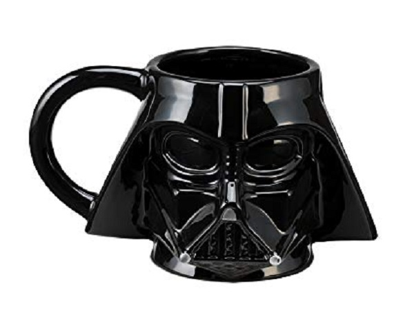 Official Darth Vader Sculpted Ceramic Coffee Mug