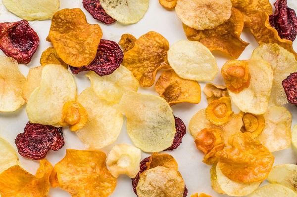 Homemade Vegetable Crisps (Chips)