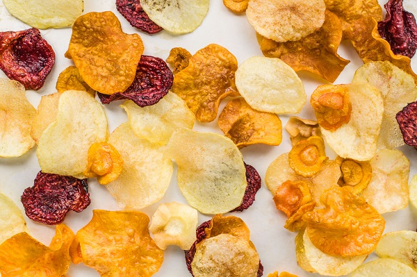 Homemade Vegetable Crisps (Chips)