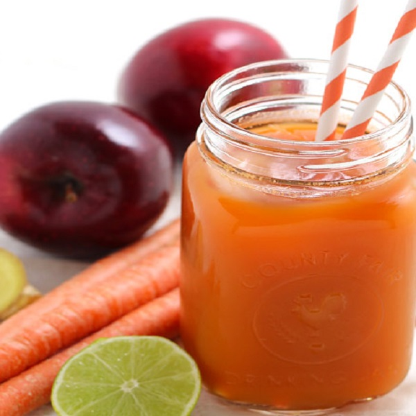 Carrot, Apple & Ginger Juice