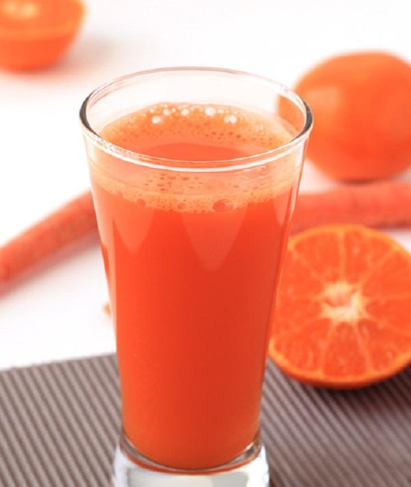 Orange Juice with Carrot.
