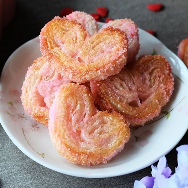 Sweetheart Palmiers