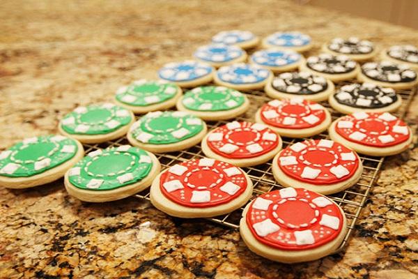Casino Chip Cookies