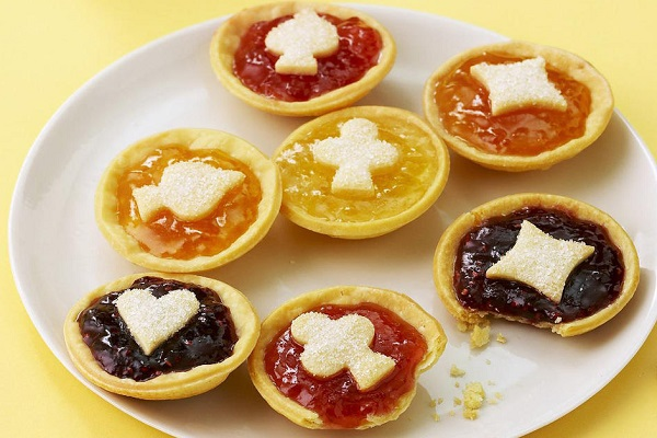 Playing Card Jam Tarts
