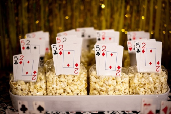 Playing Card Popcorn Packs