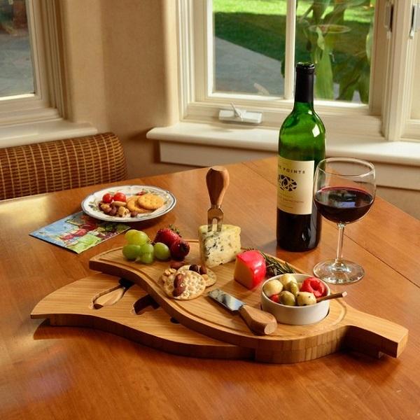 Leaf Cheese Board Set