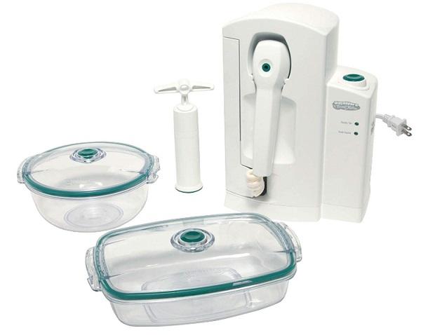 Vacuware FreshStation - All-In-One Power Vacuum Sealer & Meat & Vegetable Vacuum Marinator