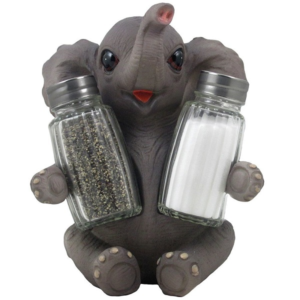 Elephant Salt and Pepper Holder