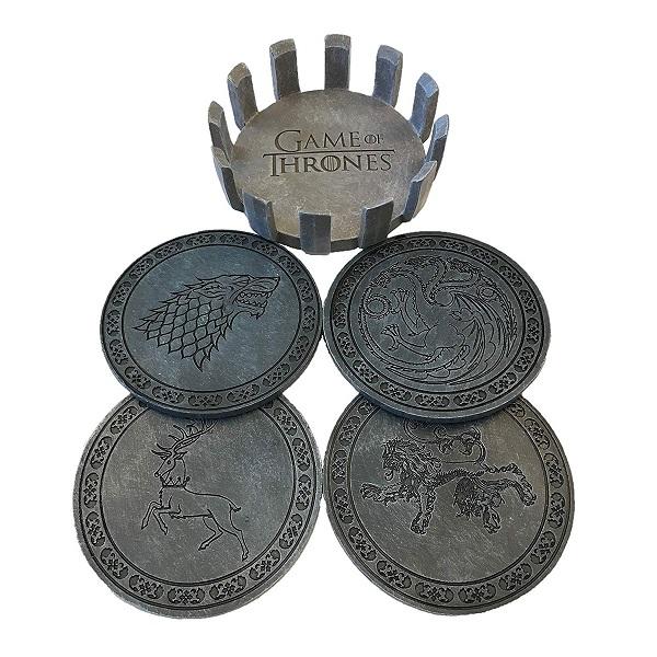 Game Of Thrones Coaster Set X4