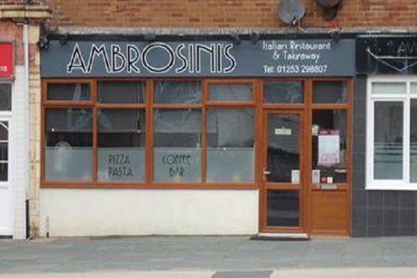 Ambrosini's, Squires Gate Lane, Blackpool