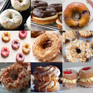 How to Make a Ring Doughnut Ten Different Ways