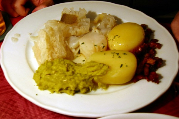 Traditional Lutefisk