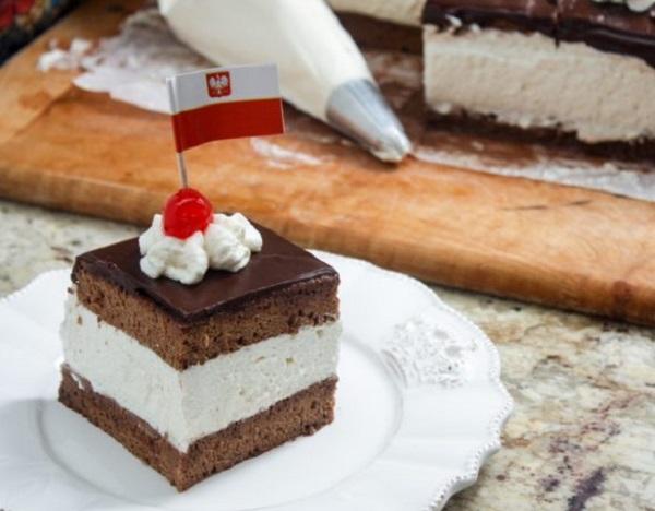 Wuzetka Cake
