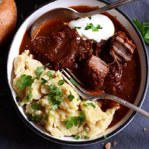 Traditional Austrian Beef Goulash