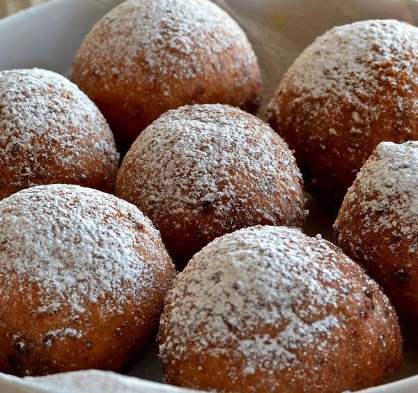 Traditional Lithuanian Varškės Spurgos (Curd Cheese Doughnuts)