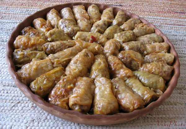 Traditional Serbian Sarma (Stuffed Cabbage Rolls)
